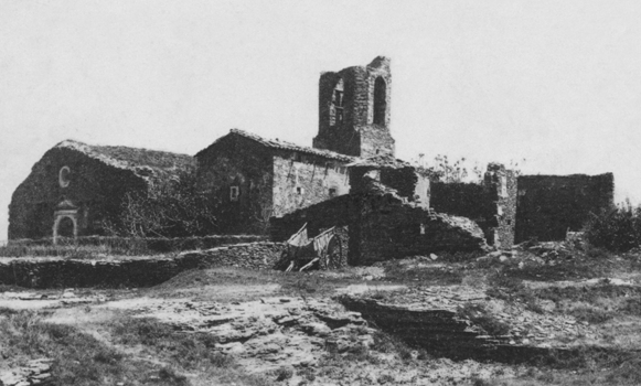 Castell Tona fotografia antiga