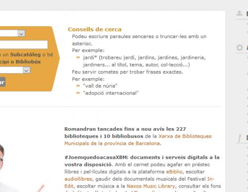 Activitats: Ús del catàleg de la Biblioteca (nivell I)