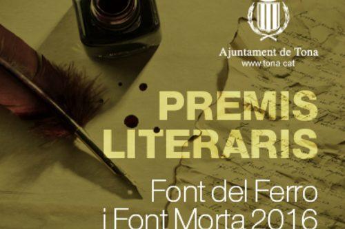 Convocada una nova edició dels Premis literaris de poesia i prosa, La Font Morta / La Font del Ferro