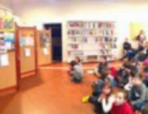 La Biblioteca amb l'Escola Vedruna i la lectura