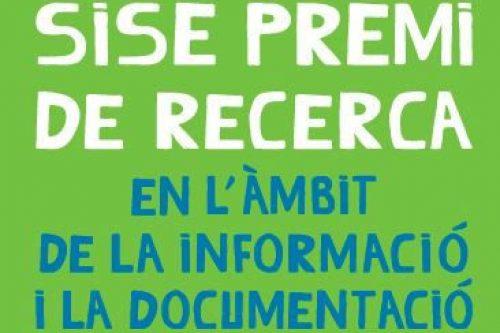 Presenta't al sisè Premi de Recerca en l'àmbit de la informació i la documentació i guanya 700€