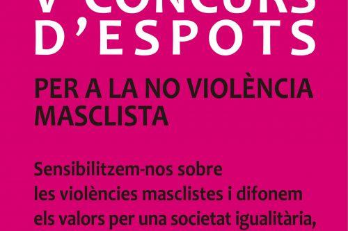 Anima't i participa al concurs d'espots per a la no violència masclista, un premi de 500€ t'espera