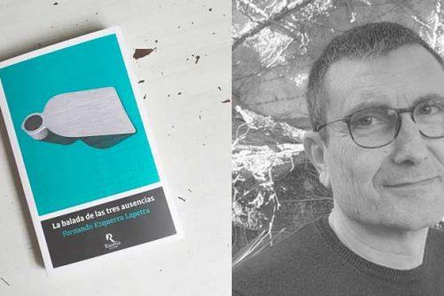 Capvespre de novel·la a l'amfiteatre del Parc de les Feixetes, amb la presentació de l'obra La balada de les tres ausencias, de Fernando Ezquerra