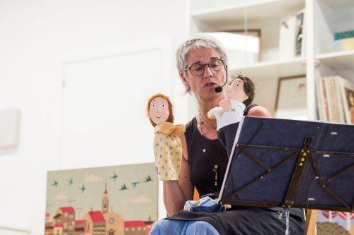 Per Sant Jordi, Contes amb la narradora Caro Von Arendt
