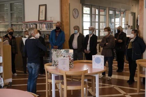 Lectures compartides en una acció adreçada a la gent gran